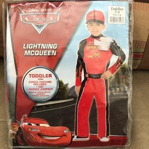 Lightening McQueen costume